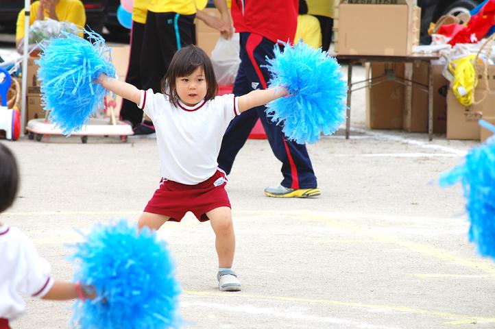 3歳の運動会